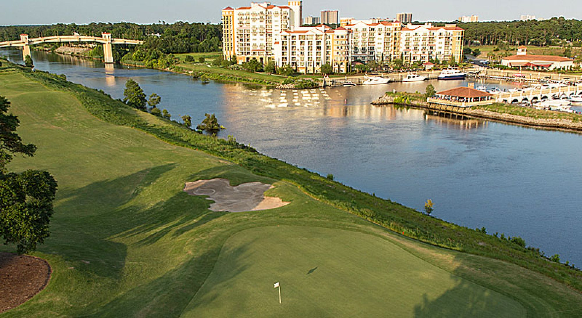 Grande Dunes Golf offers several of the most excellent golf course within South Carolina