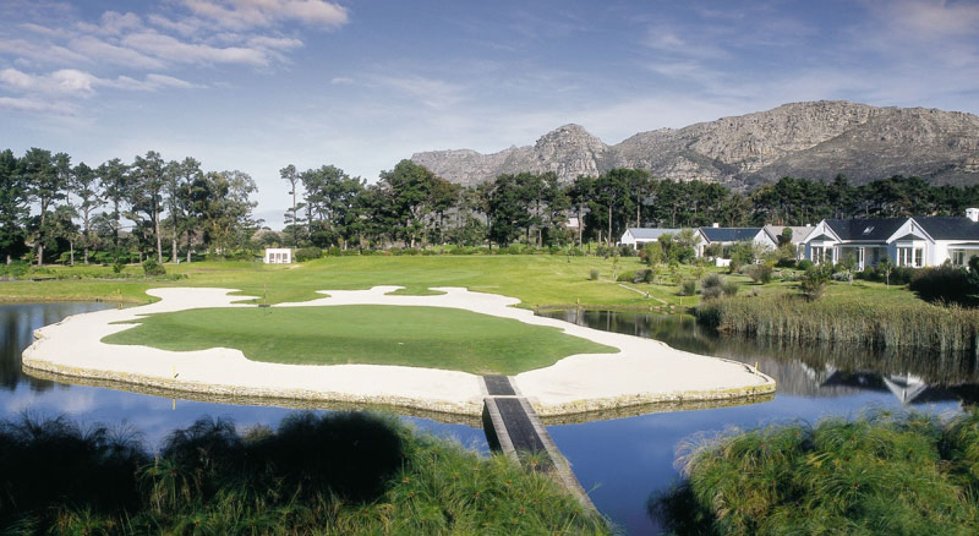 View Steenberg Golf Club's impressive golf course situated in incredible South Africa.