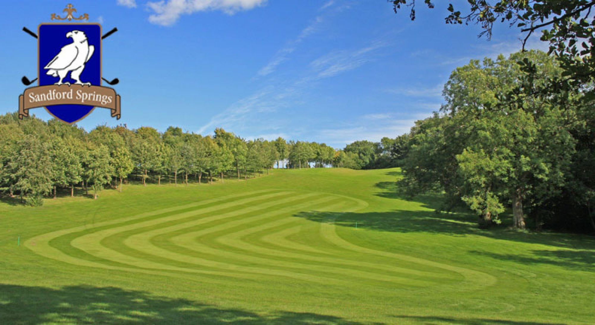 The Sandford Springs Golf Club's beautiful golf course within dazzling Hampshire.