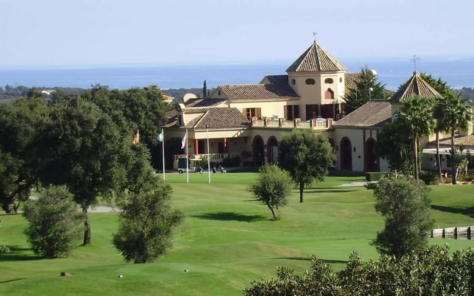 The San Roque Club - Old Course's picturesque golf course in pleasing Costa Del Sol.