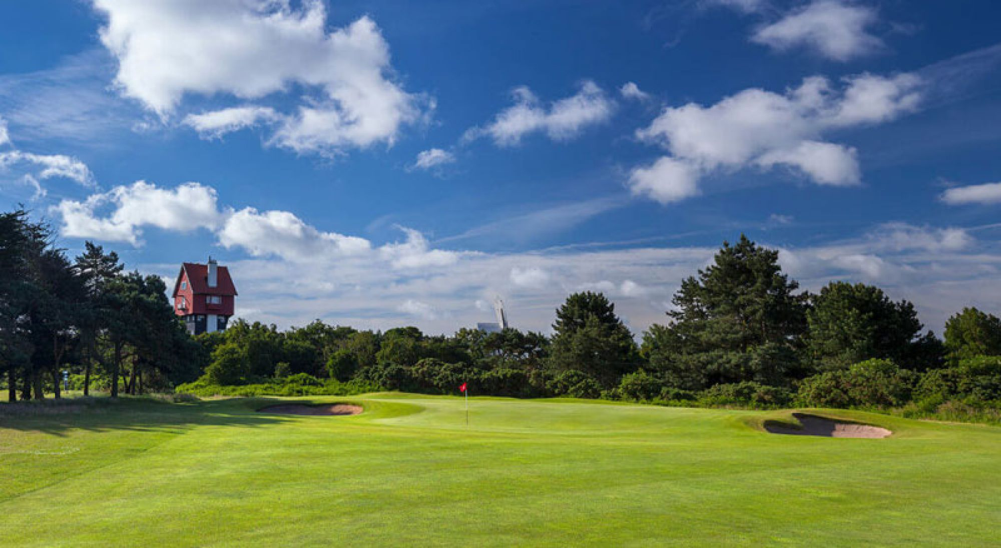 The Thorpeness Golf Club's impressive golf course within brilliant Suffolk.