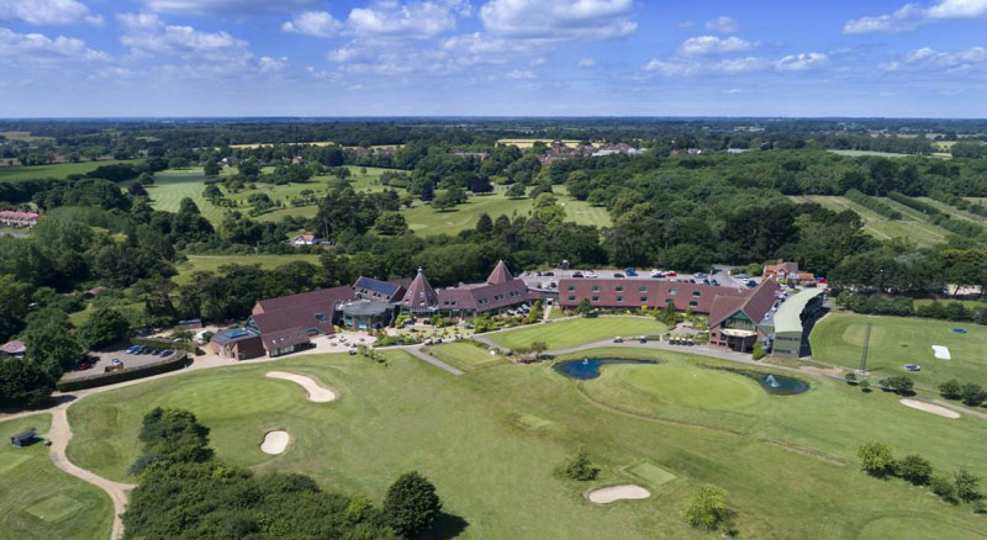 Ufford Park Woodbridge Golf includes lots of the most popular golf course around Suffolk