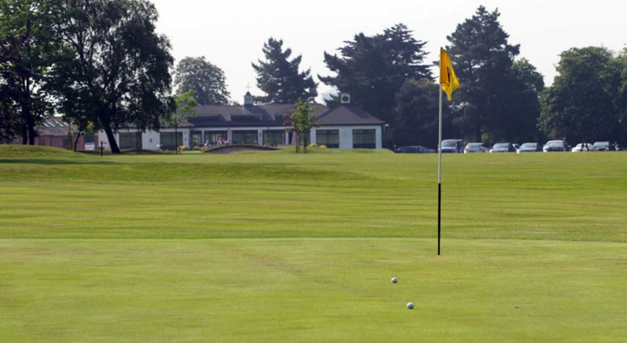 The Colchester Golf Club's impressive golf course situated in striking Essex.