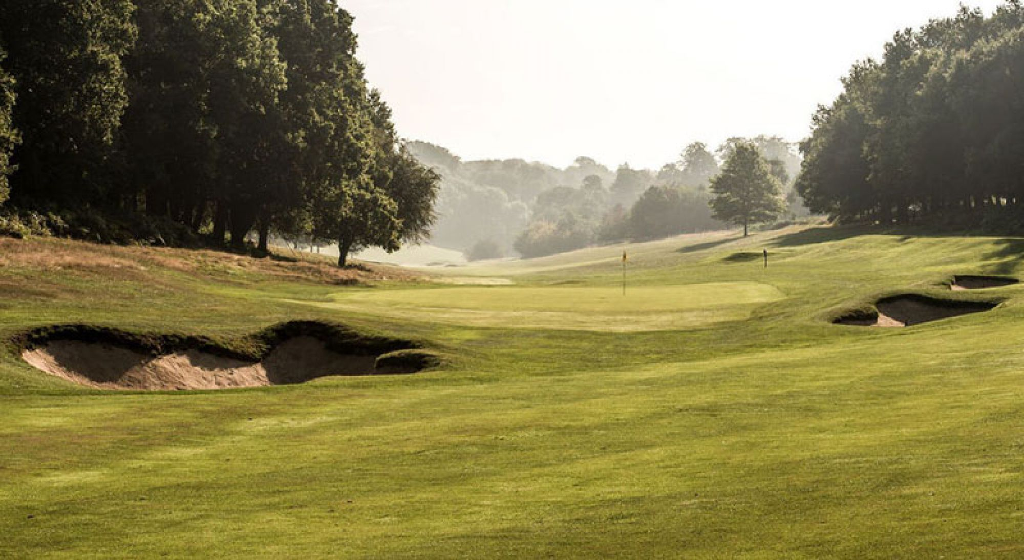 All The Ashridge Golf Club's impressive golf course within impressive Hertfordshire.