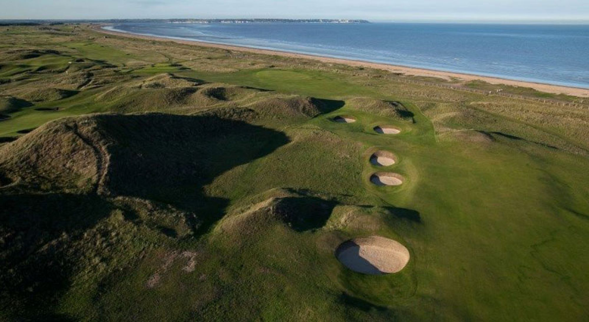View Royal St. George's Golf Club's picturesque golf course within striking Kent.