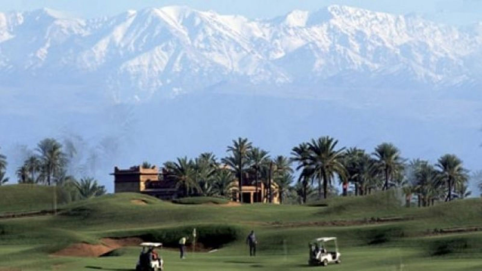 Golf Amelkis includes among the most desirable golf course within Morocco