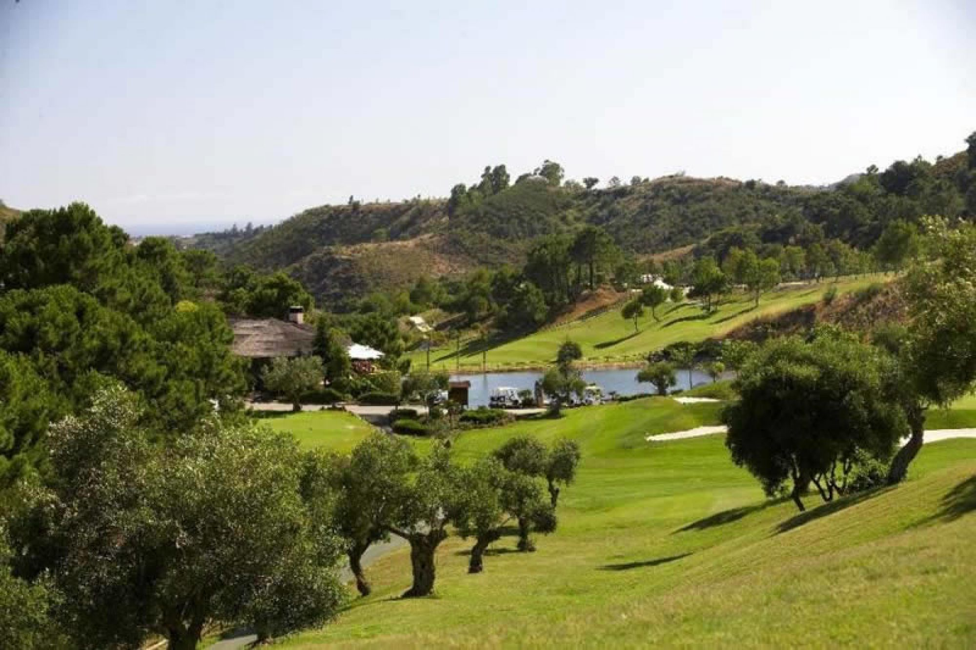 All The Marbella Golf and Country Club's lovely golf course in dramatic Costa Del Sol.