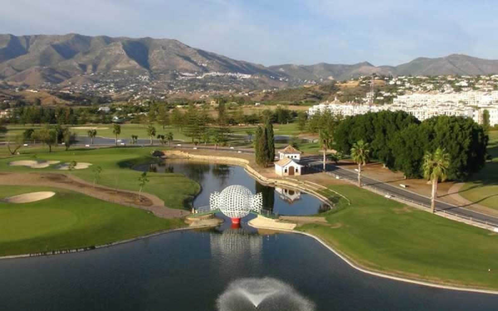 The Mijas Golf Club - Los Lagos's lovely golf course in incredible Costa Del Sol.