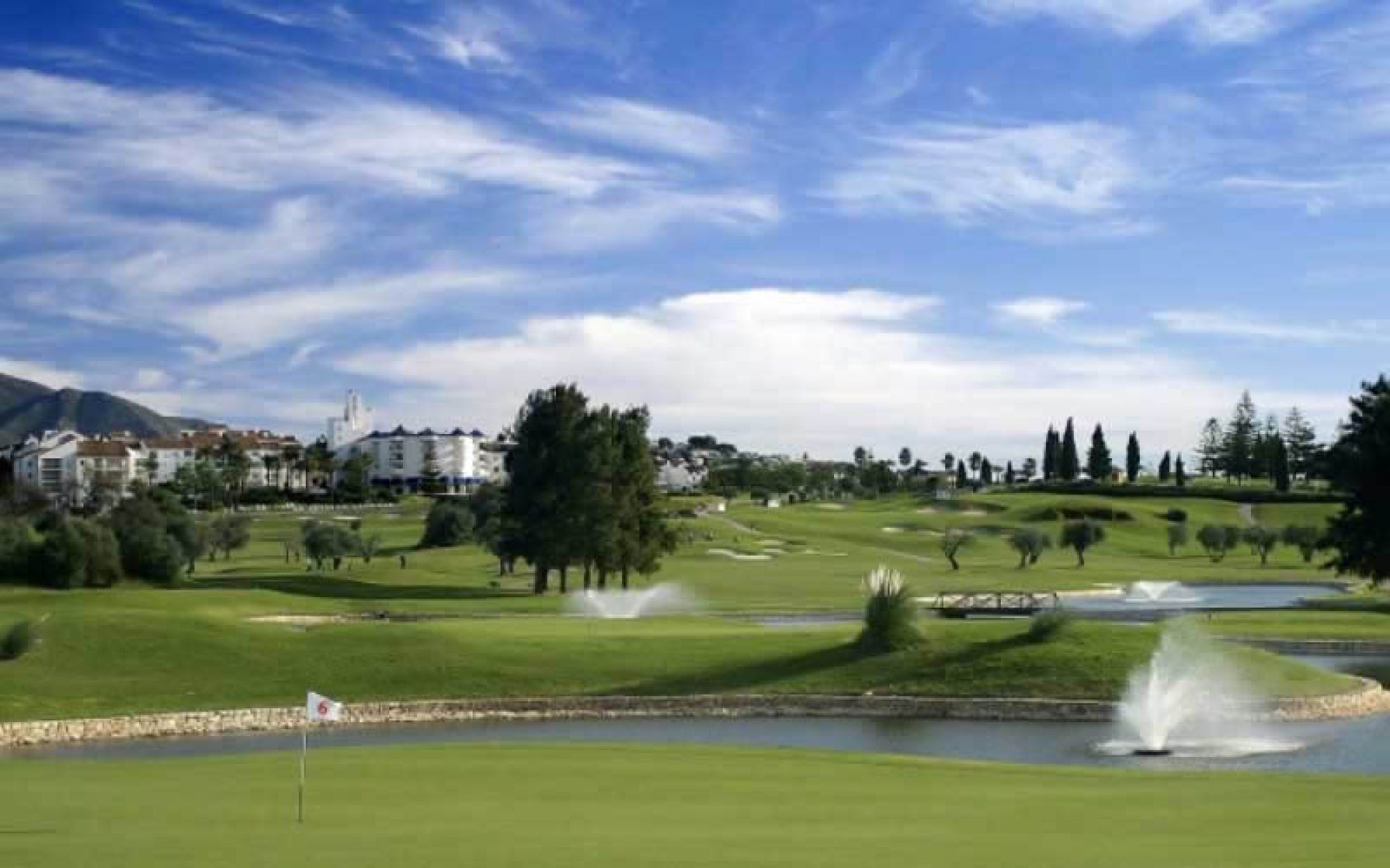 The Mijas Golf Club - Los Olivos's lovely golf course in pleasing Costa Del Sol.
