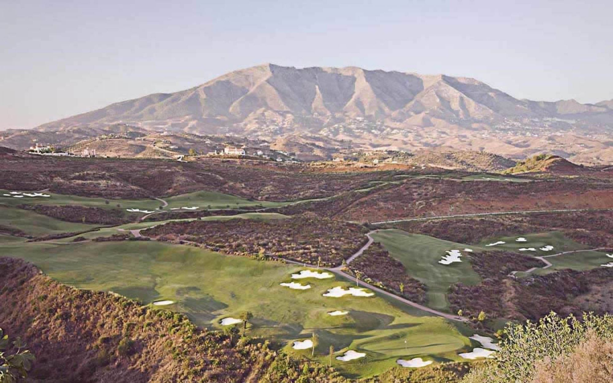 The La Cala Europa Course's beautiful golf course situated in sensational Costa Del Sol.