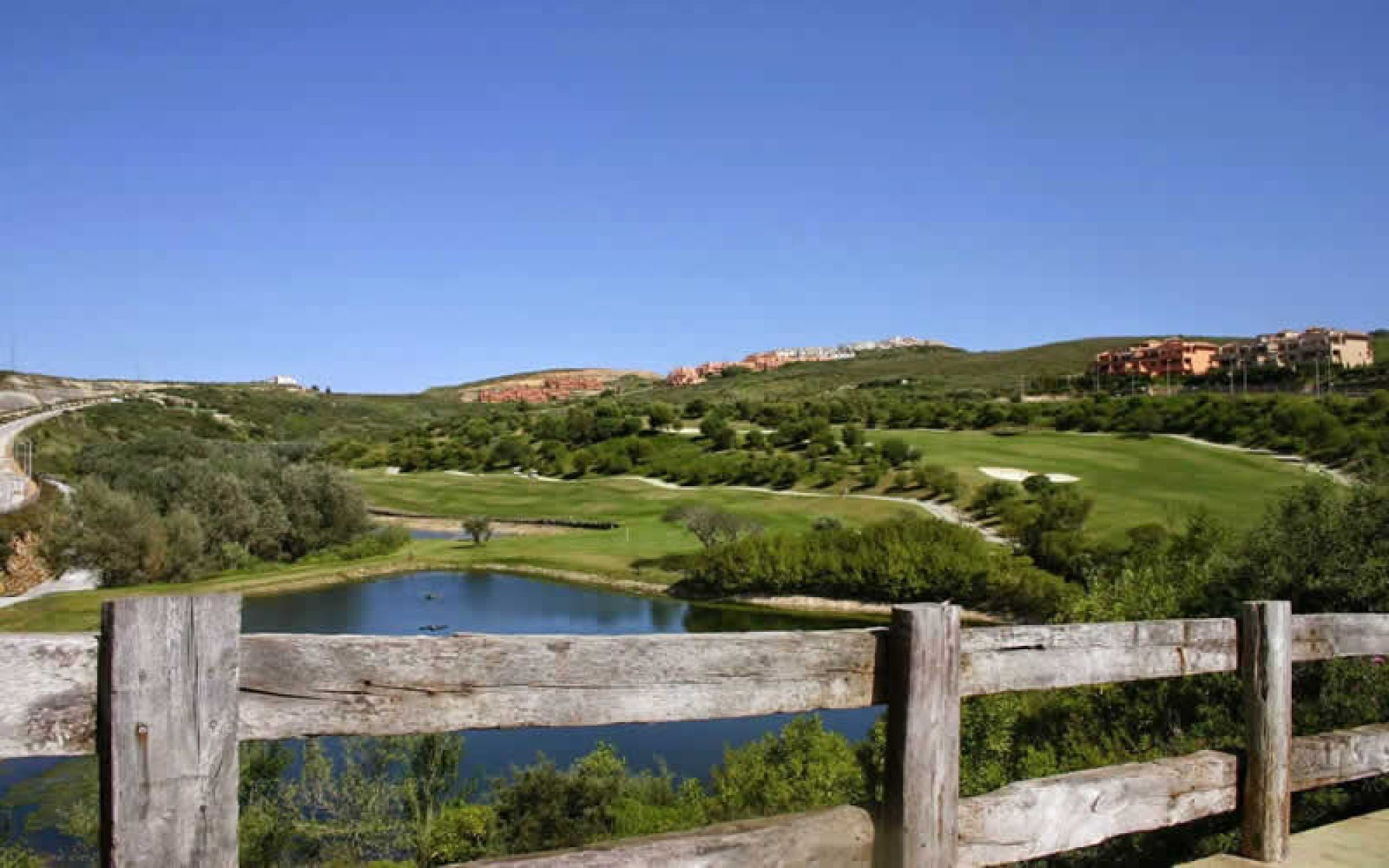 All The Dona Julia Golf  Club's lovely golf course within staggering Costa Del Sol.