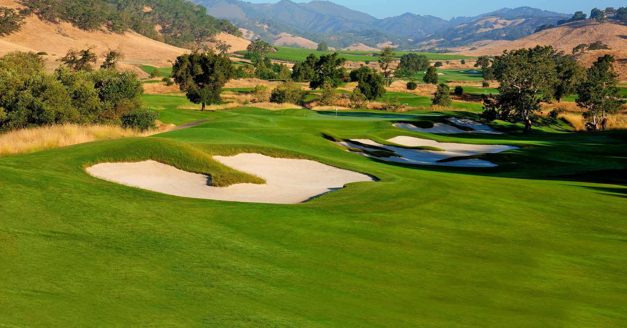 CordeValle Golf provides several of the top golf course within California
