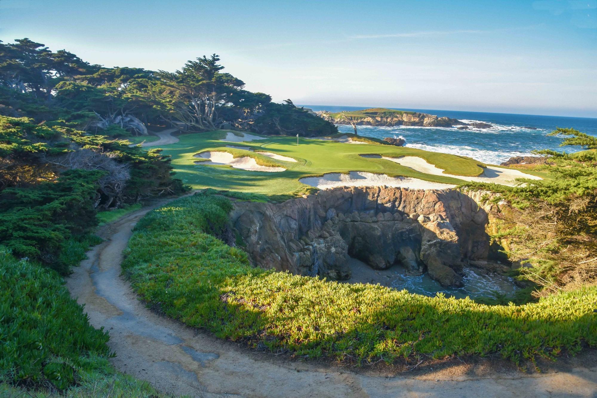 Cypress Point Club features several of the preferred golf course near California