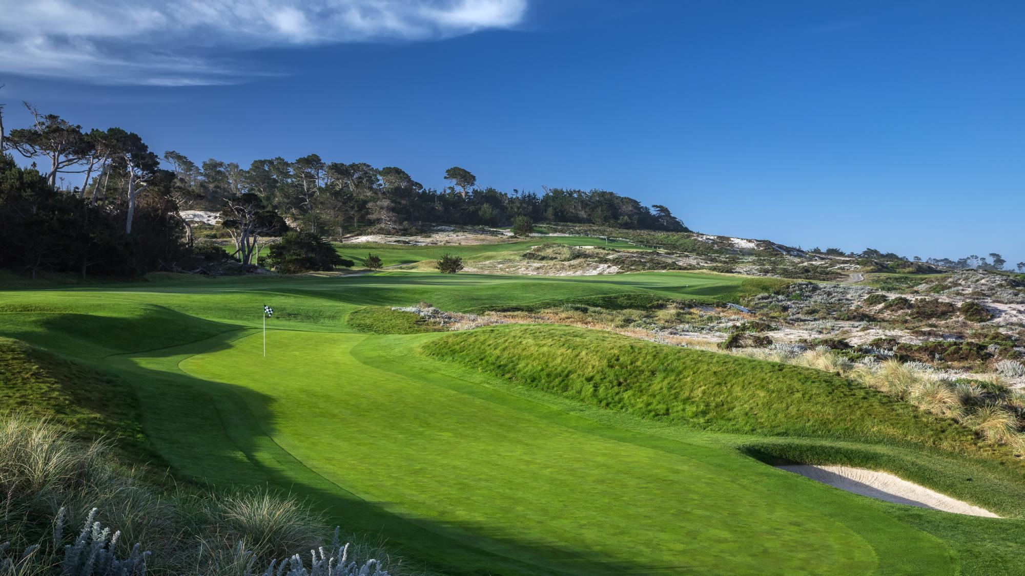 All The Spyglass Hill Golf Course's impressive golf course situated in gorgeous California.