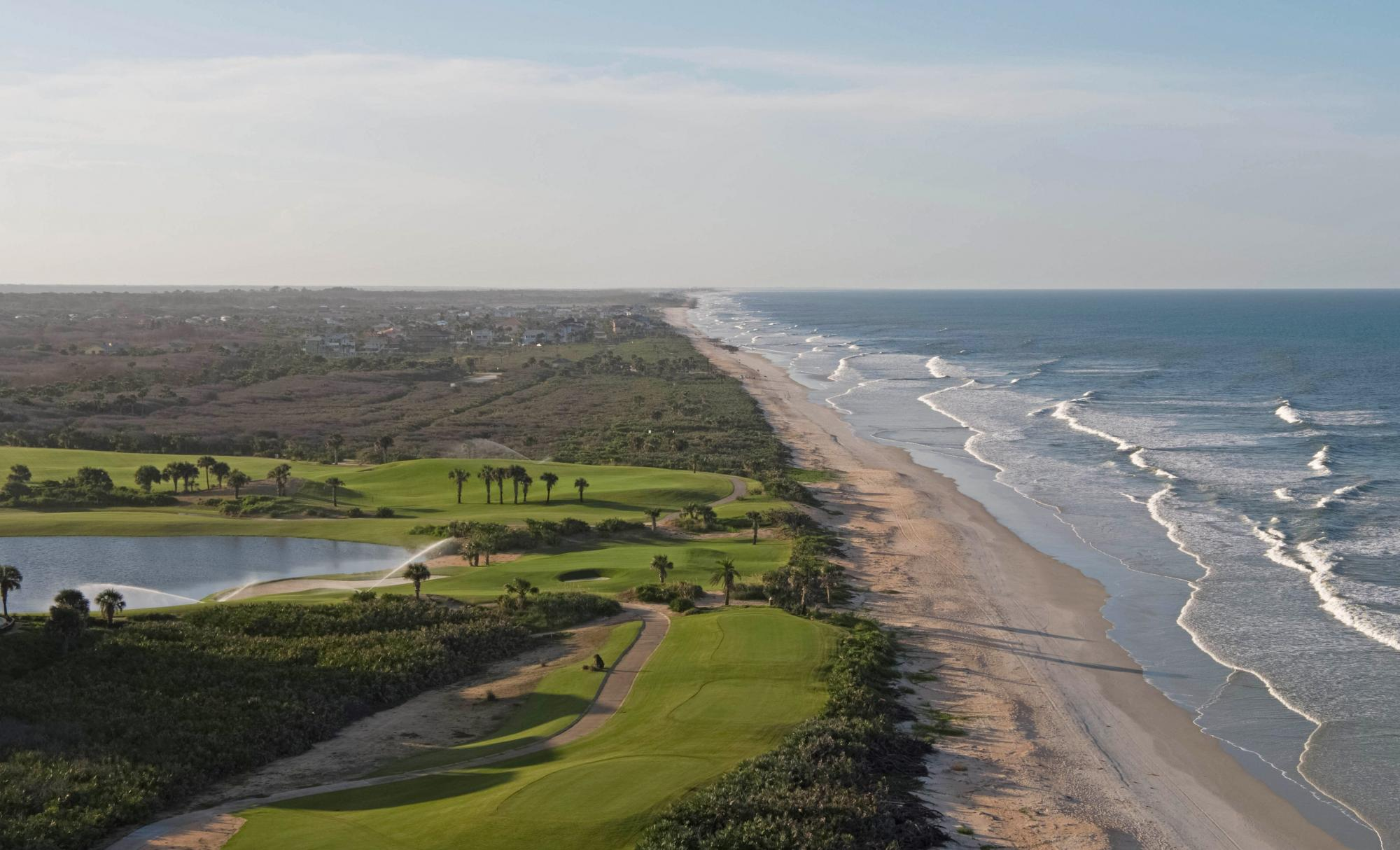Hammock Beach Resort Golf boasts several of the top golf course within Florida