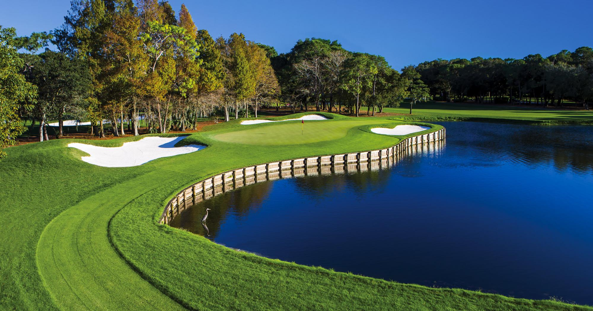 The Innisbrook Golf's picturesque golf course in stunning Florida.