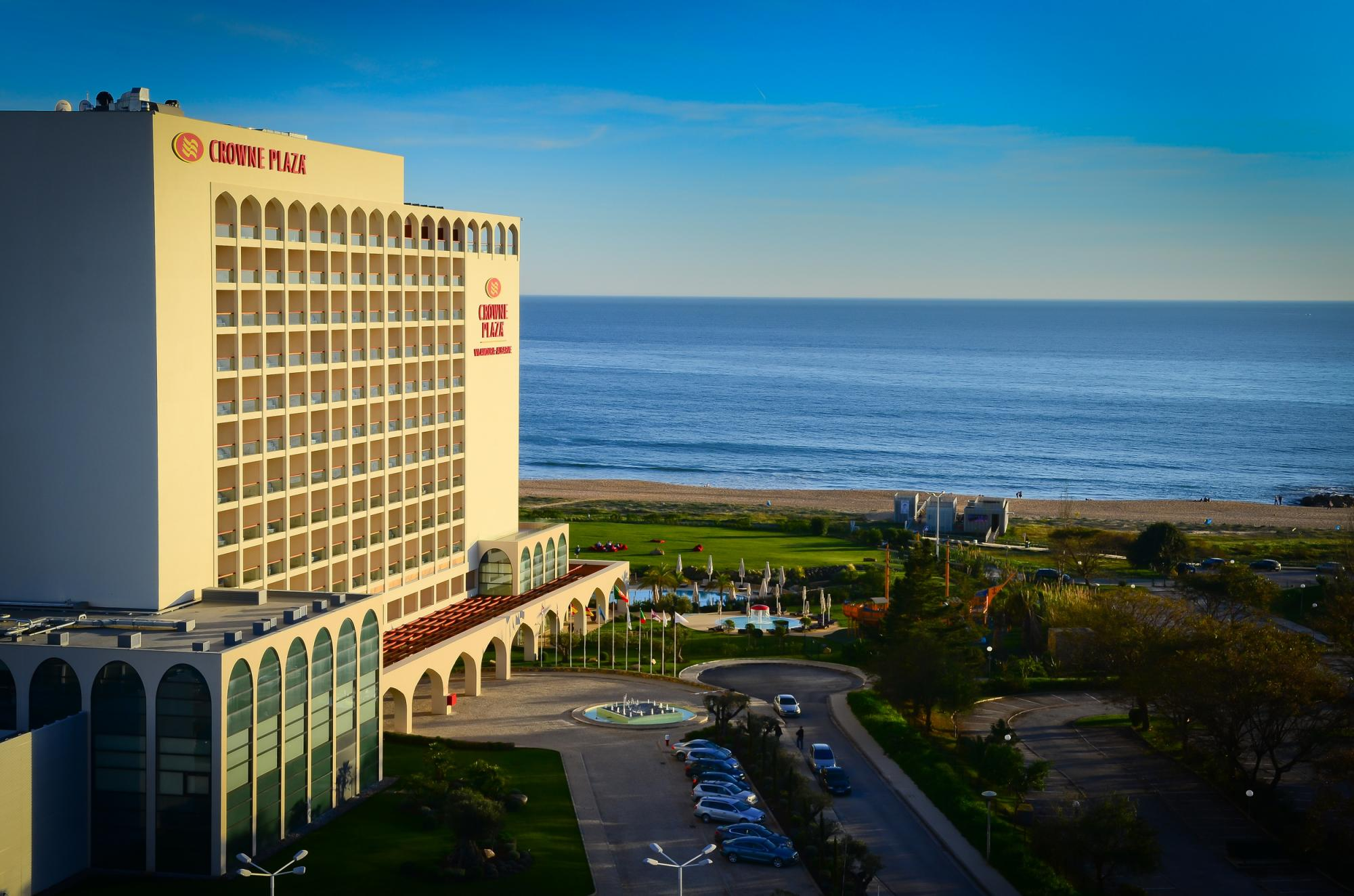 Crowne Plaza Hotel features one of the top sea views within Algarve