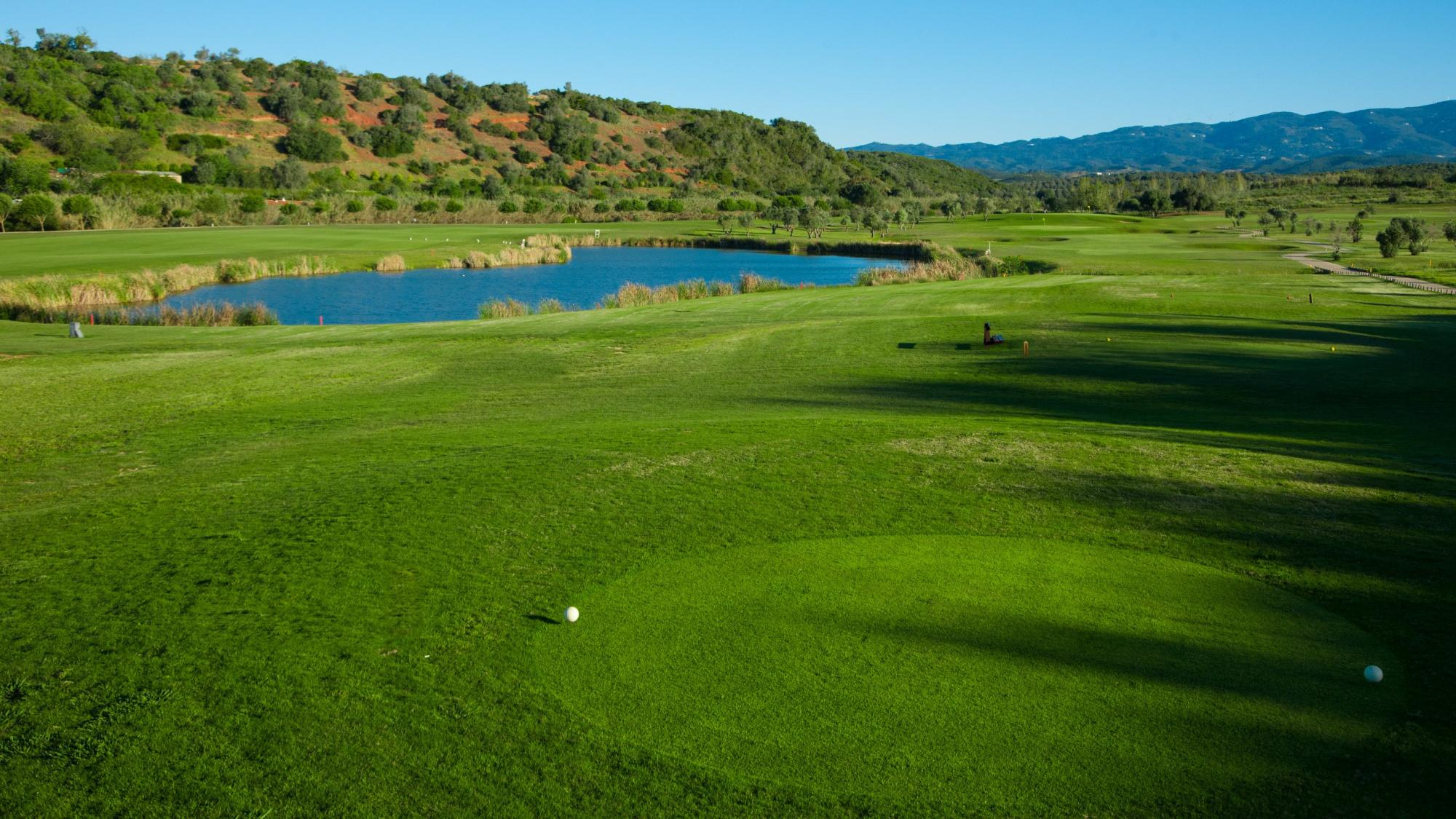 Alamos Golf Course features several of the top holes within Algarve