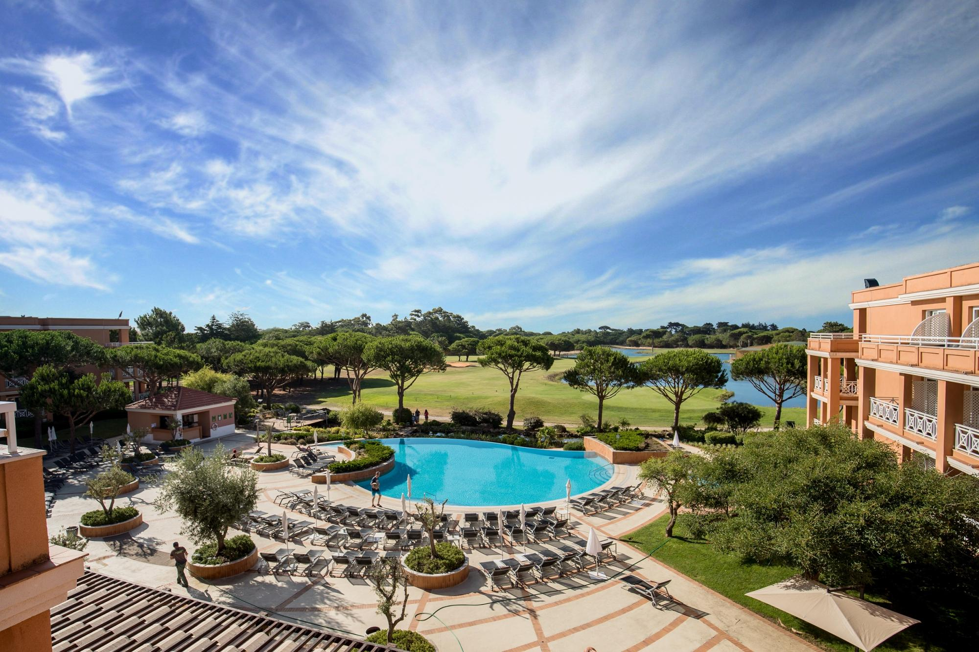 The Quinta da Marinha Resort Hotel's impressive hotel situated in magnificent Lisbon.