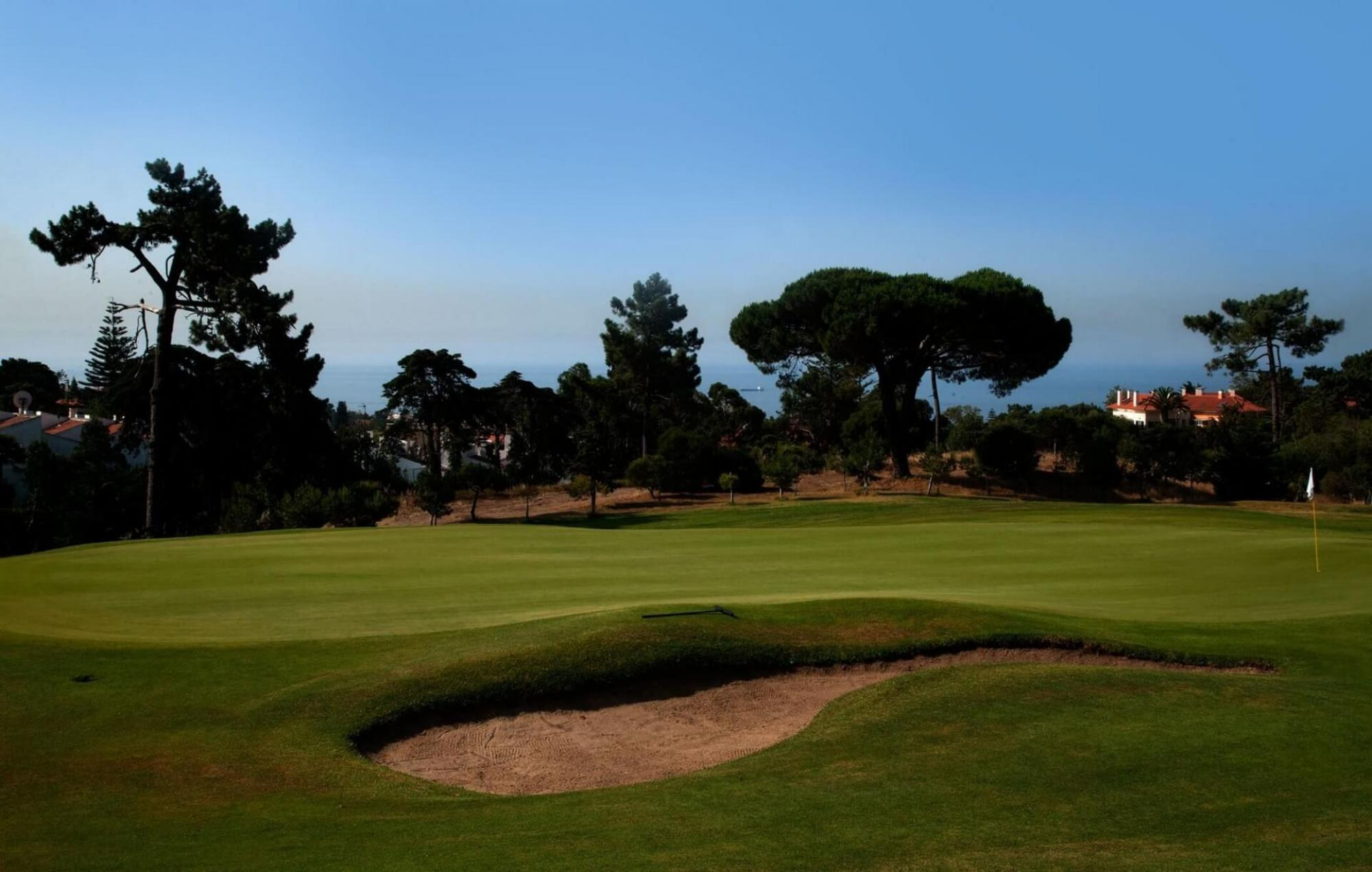 The Estoril Palacio Golf Course's lovely golf course within sensational Lisbon.