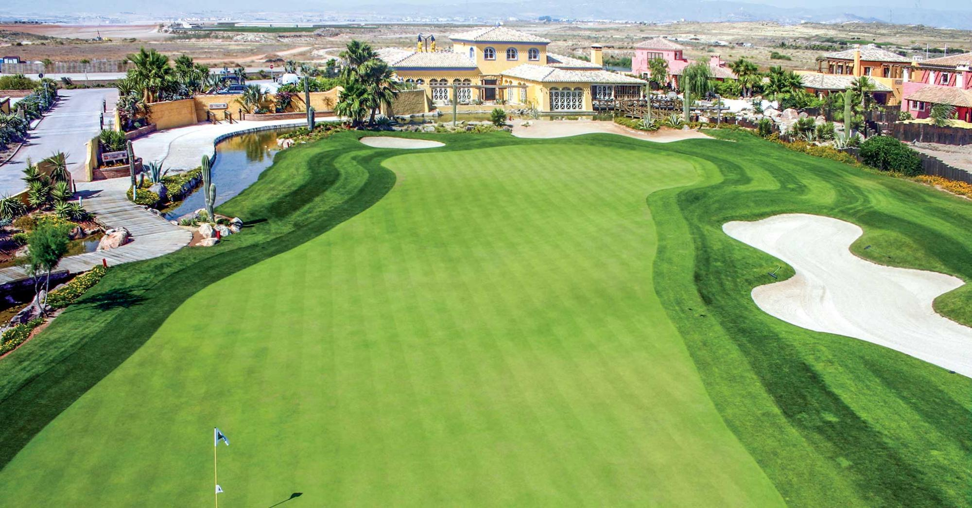 The Desert Springs Golf Club's picturesque golf course situated in sensational Costa Almeria.