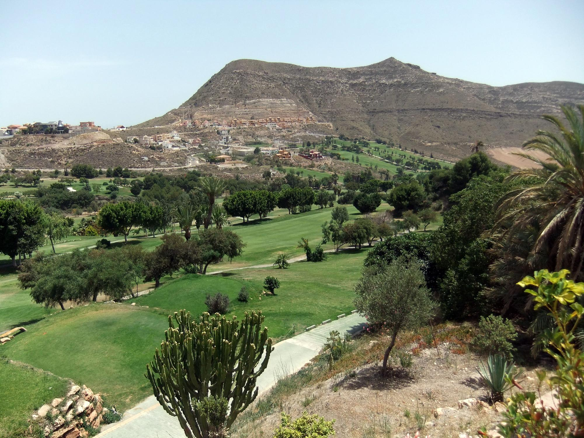The La Envia Golf's lovely golf course within brilliant Costa Almeria.