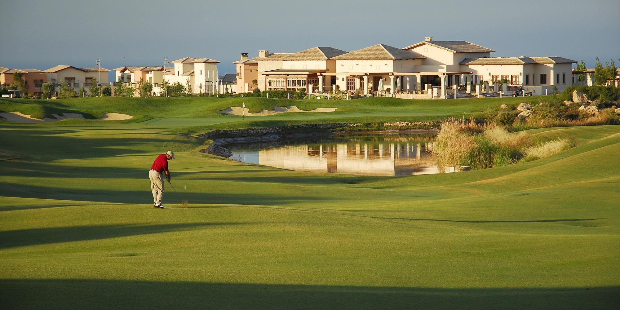 All The The PGA National Cyprus's lovely golf course within impressive Paphos.