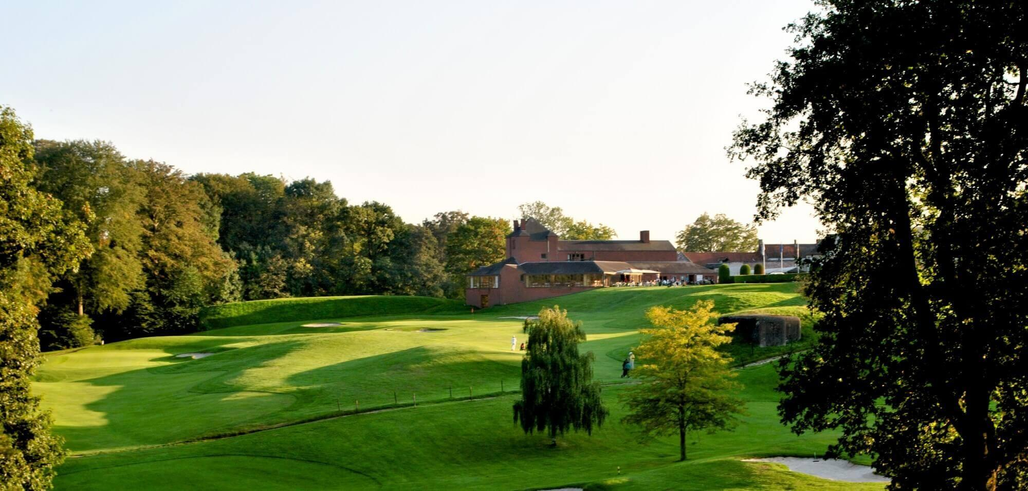 The Golf du Chateau de la Bawette's picturesque golf course in incredible Brussels Waterloo & Mons.