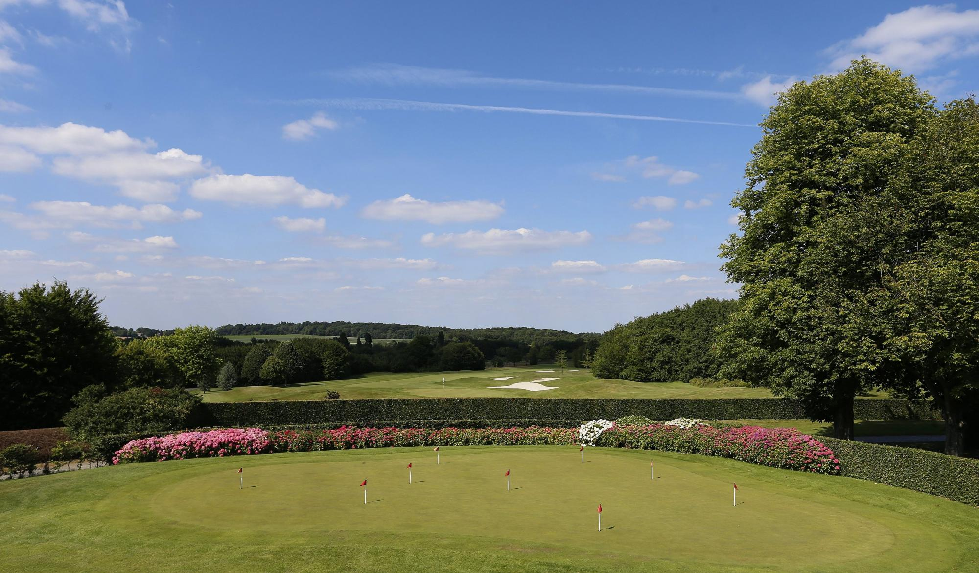 View Golf Club de Hulencourt's lovely golf course in amazing Brussels Waterloo & Mons.