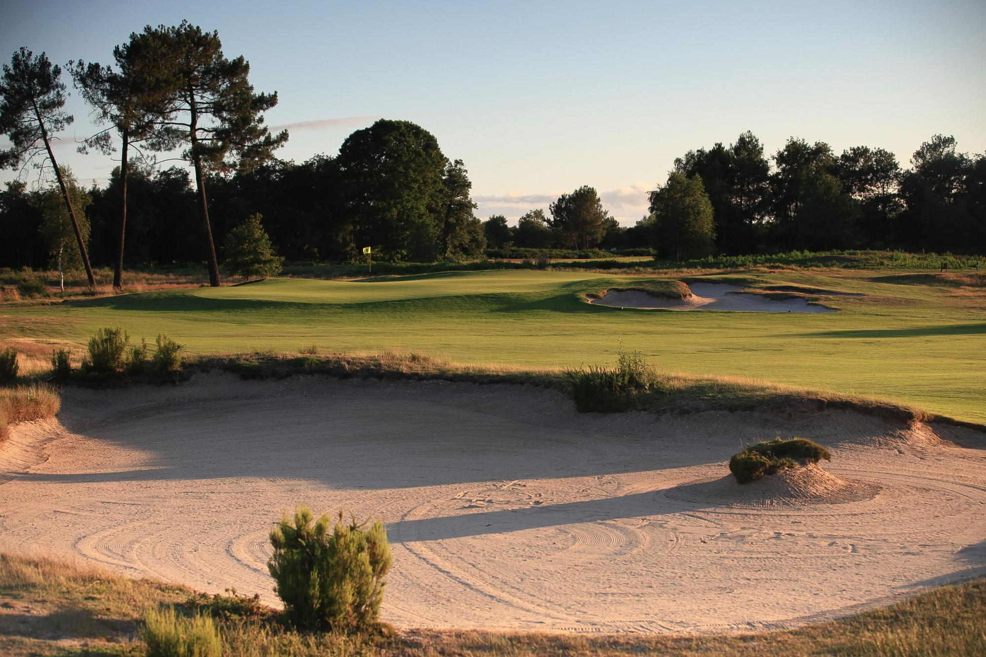 Golf du Medoc Resort has lots of the leading golf course within South-West France