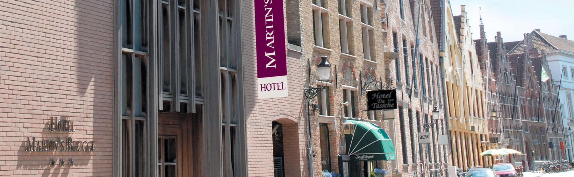 View Martins Brugge's beautiful hotel situated in impressive Bruges  Ypres.