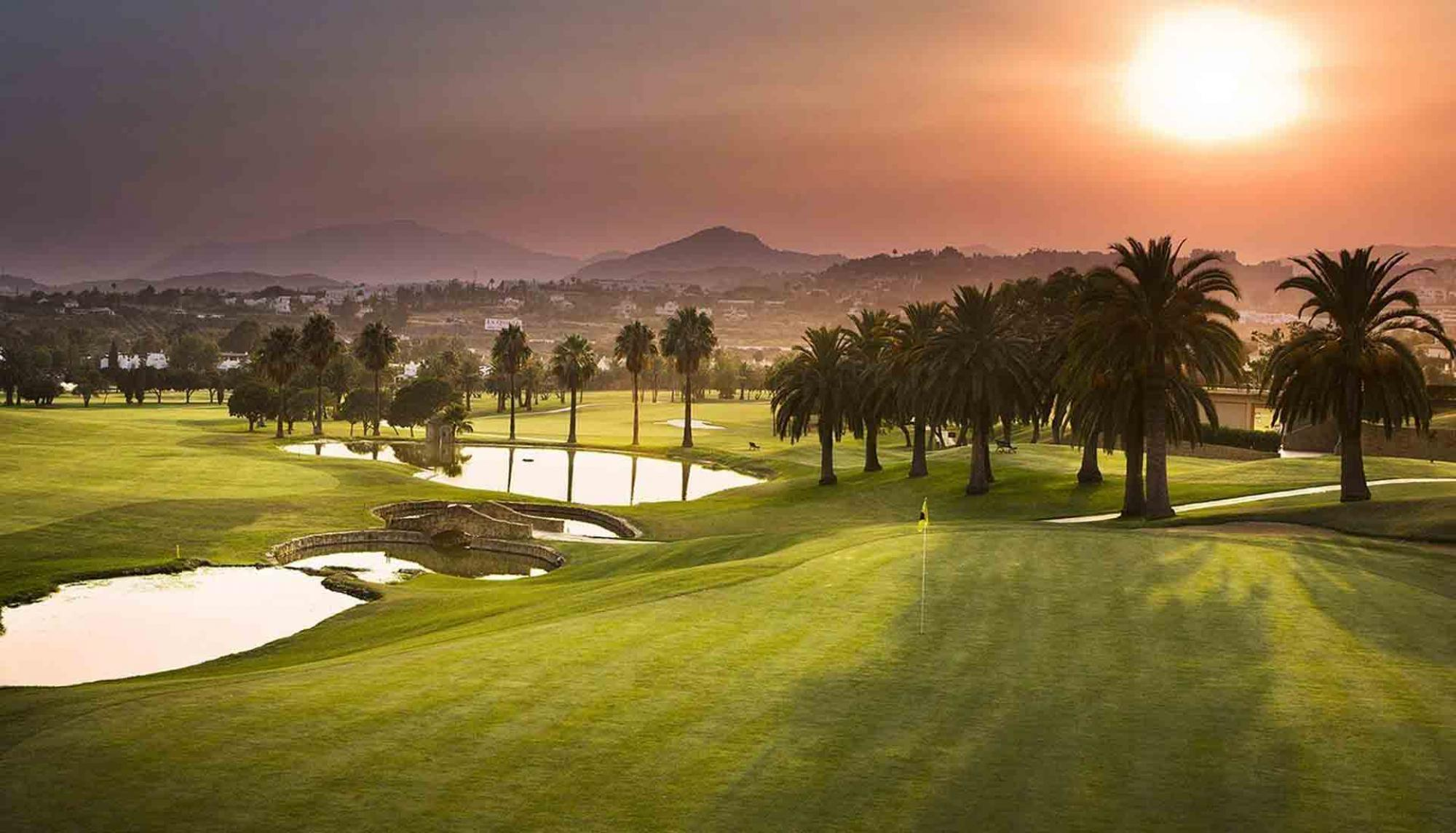 The Double Tree By Hilton Hotel Emporda  Spa's lovely golf course within stunning Costa Brava.