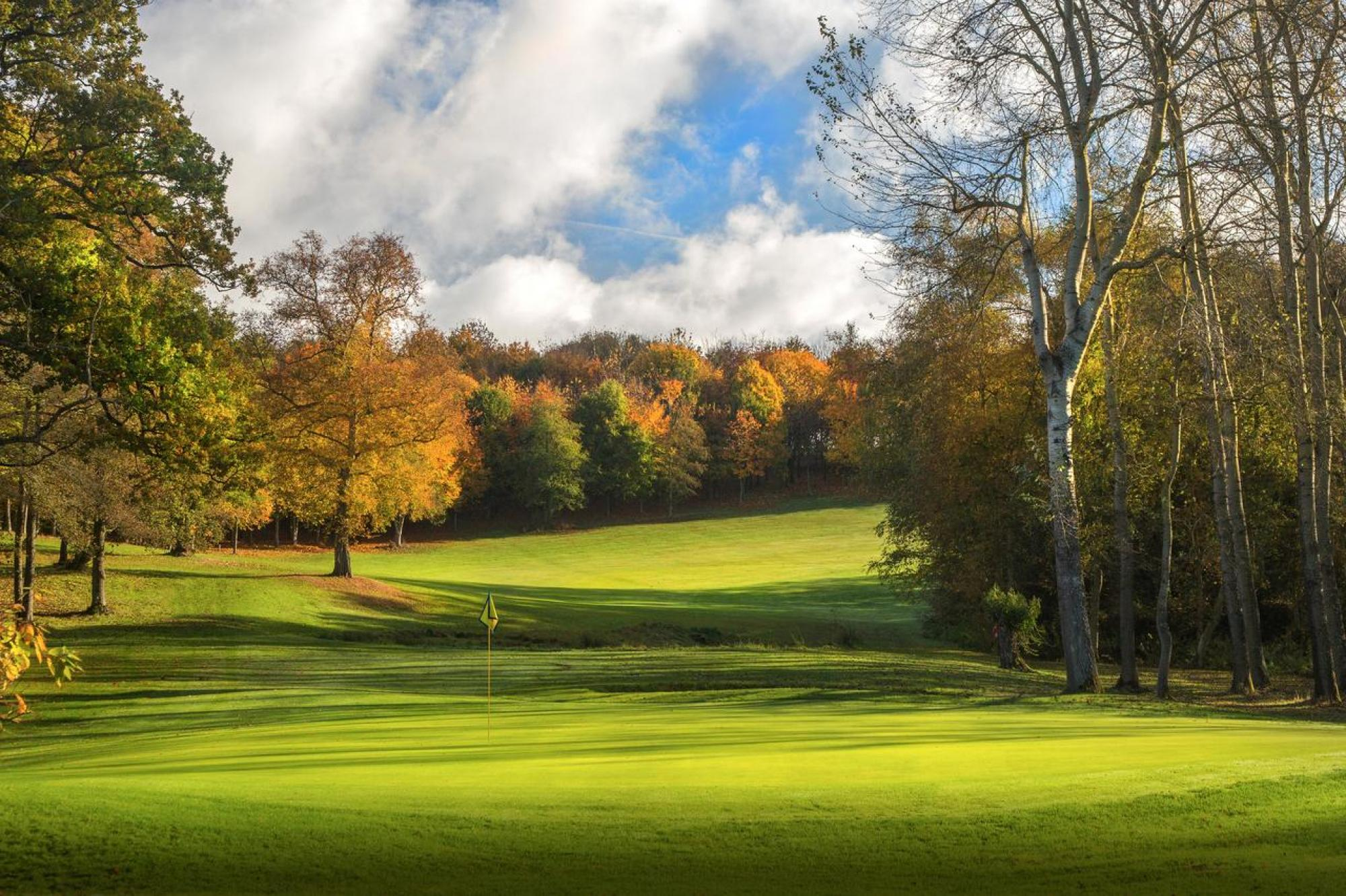 The Sandford Springs Hotel  Golf Club's beautiful golf course situated in sensational Hampshire.