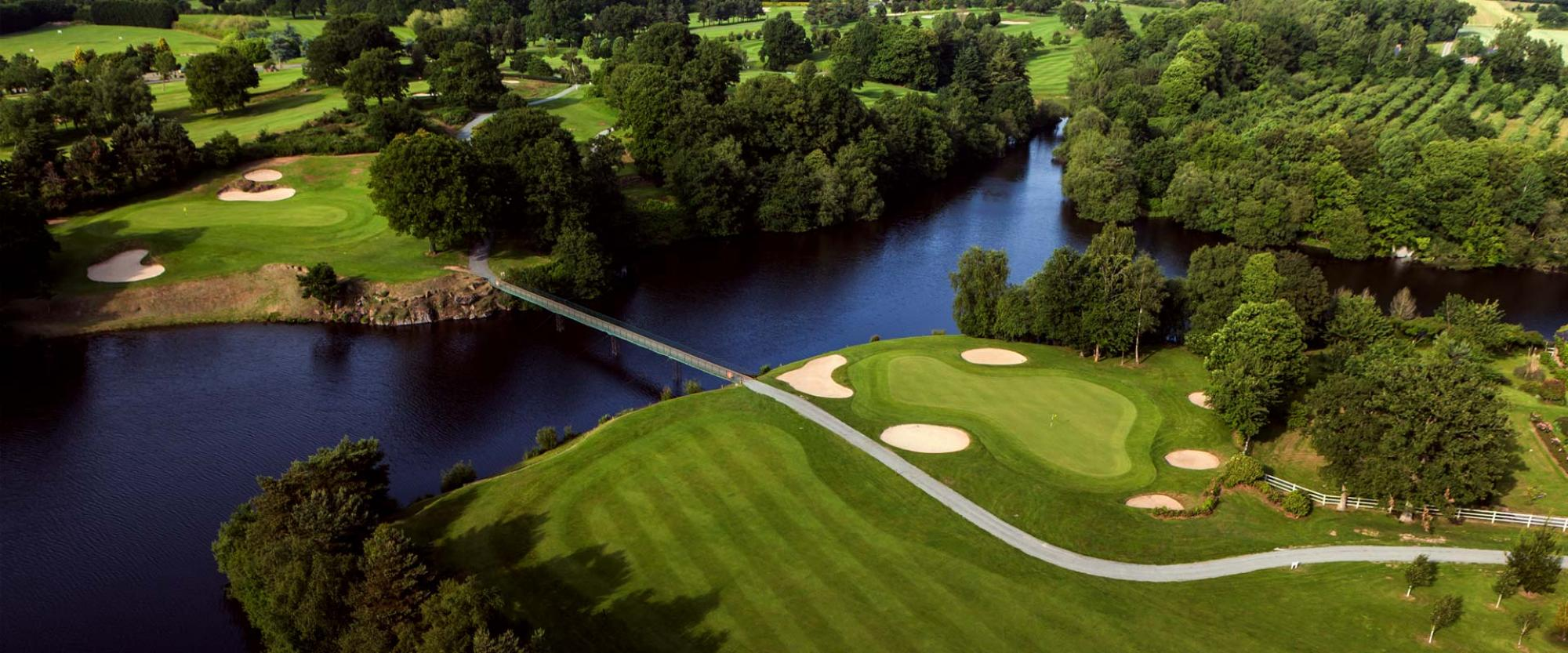 All The Saint-Malo Golf & Country Club's beautiful golf course within faultless Brittany.