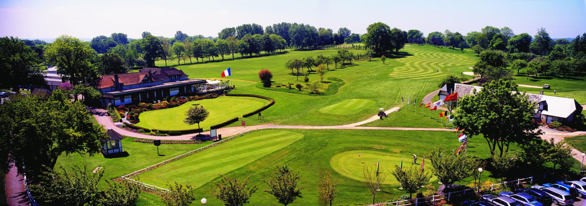View Golf Barriere de Deauville's beautiful golf course within stunning Normandy.