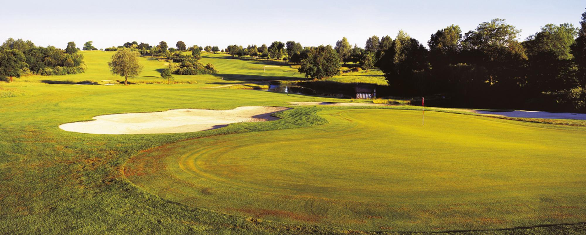 The Golf Barriere de Saint-Julien's impressive golf course situated in sensational Normandy.