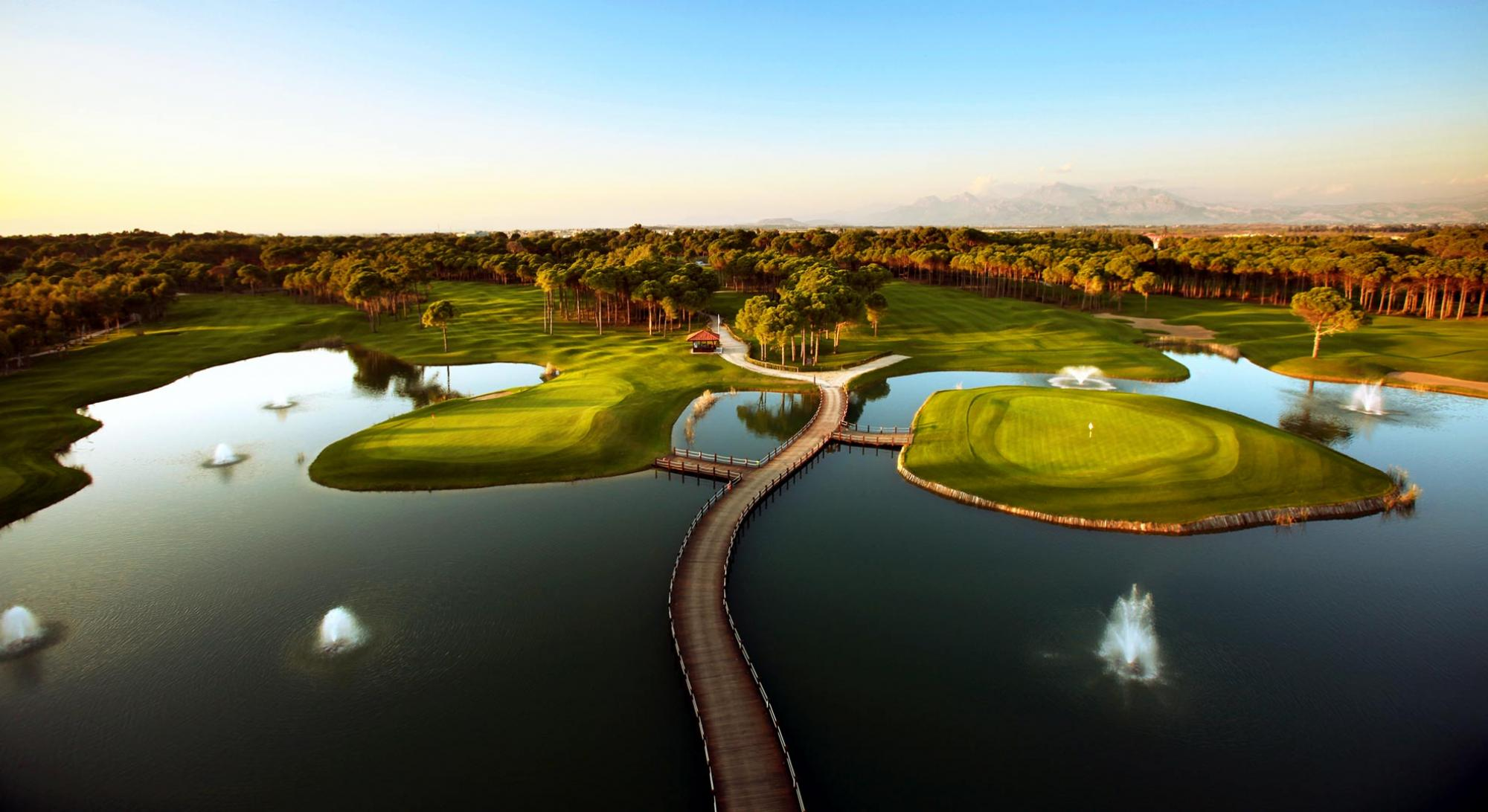 Sueno Golf Club has got some of the top golf course around Belek