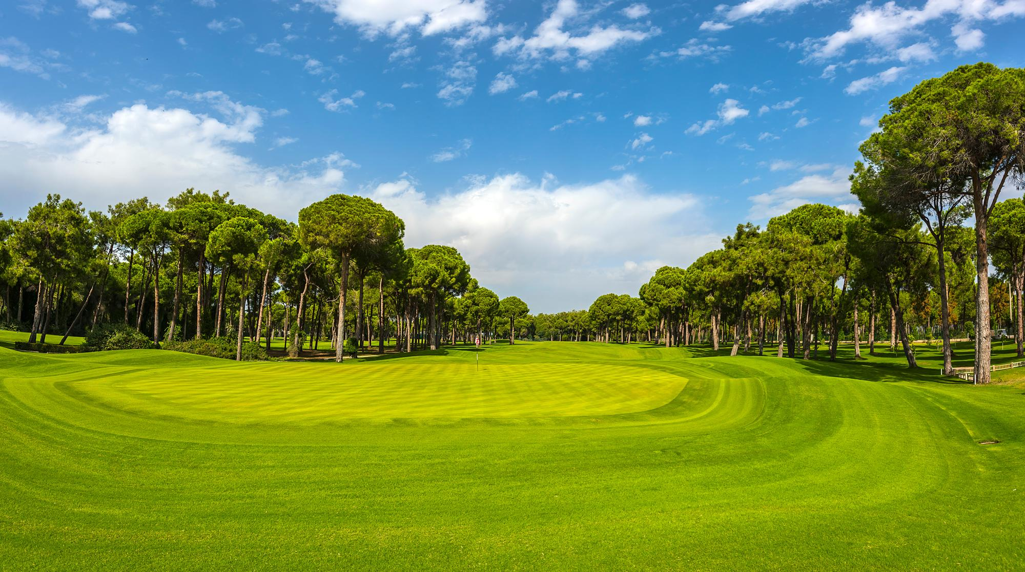 The Gloria New Golf Course's lovely golf course situated in brilliant Belek.