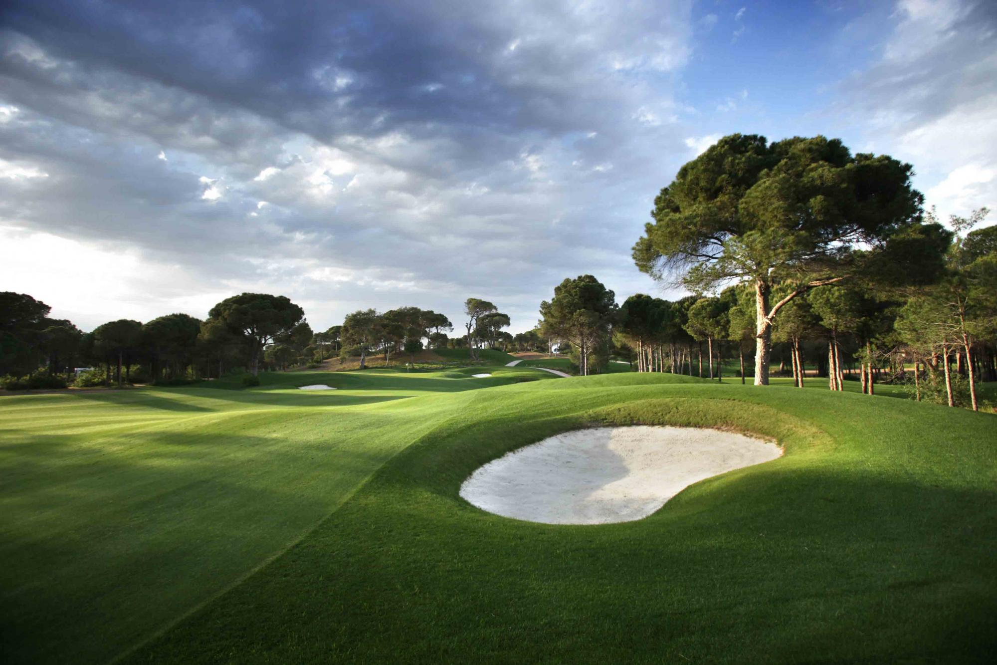 All The Montgomerie Maxx Royal Golf Club's scenic golf course in vibrant Belek.