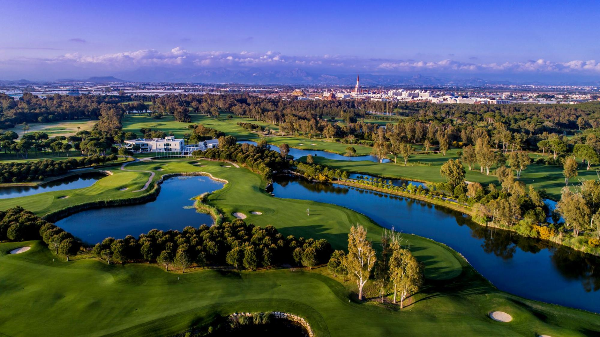 View Antalya Golf Club's picturesque golf course in astounding Belek.