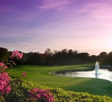 The National Golf Club's impressive golf course situated in pleasing Belek.