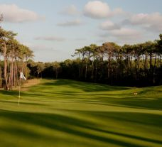 The Golf de Moliets's lovely golf course situated in vibrant South-West France.