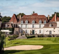 The Golf des Vigiers's lovely golf course within magnificent South-West France.
