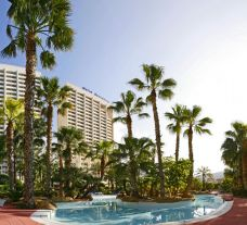 The Melia Benidorm Hotel's impressive hotel situated in gorgeous Costa Blanca.