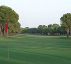 The Robinson Nobilis Golf Club's lovely golf course within dramatic Belek.