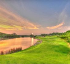 The St Andrews 2000 Country Club's scenic golf course in vibrant Pattaya.