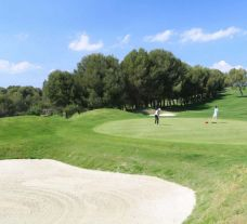 The Costa Dorada Golf Club's scenic golf course in sensational Costa Dorada.