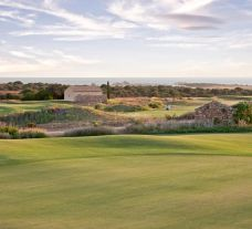 The Donnafugata Golf Club's lovely golf course situated in vibrant Sicily.