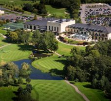 The Vale Resort's impressive hotel within pleasing Wales.