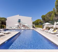 The Magnolia Golf and Wellness Hotel's impressive main pool in incredible Algarve.